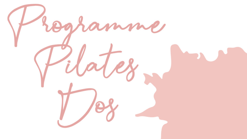 Programme Pilates dos