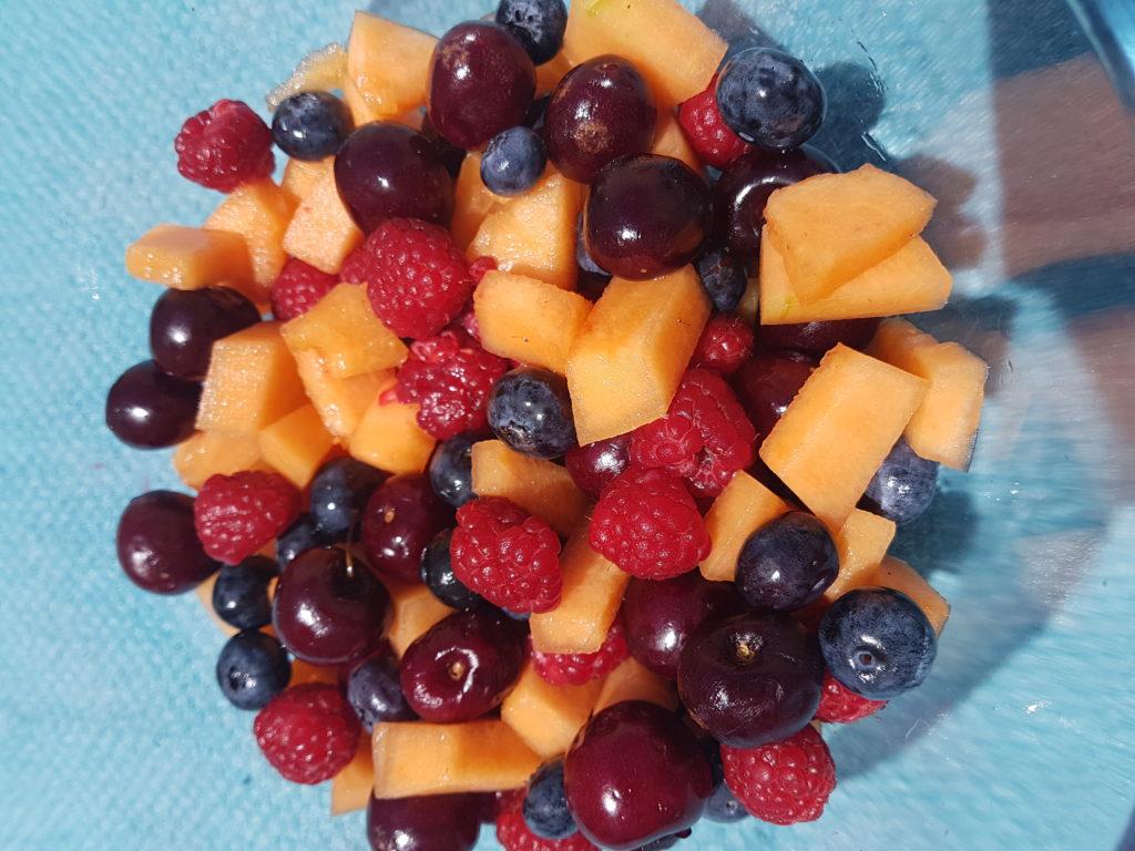 salade de fruits détox pour bien récupérer des fêtes